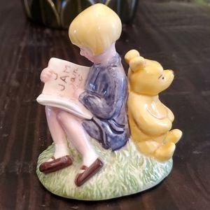 Disney ceramic Winnie Pooh figure